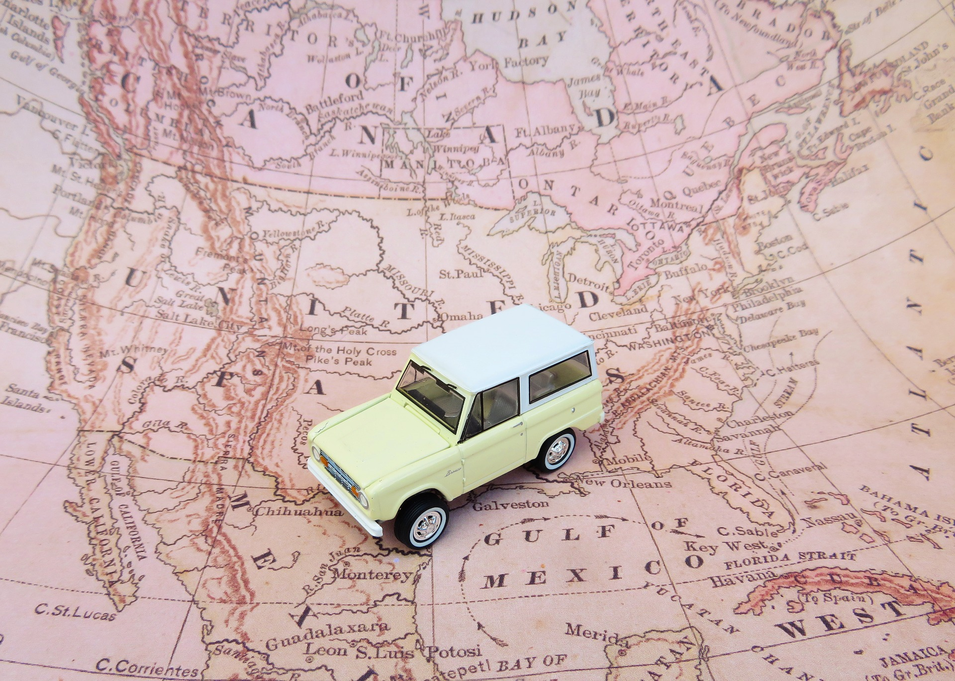 Road trip - Pixabay