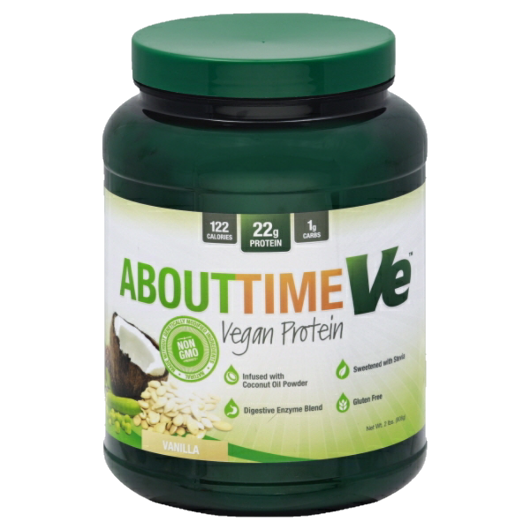 About Time - vegan protein