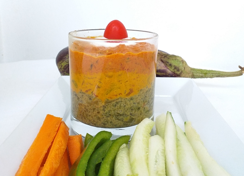 Trio de tartinades aux légumes